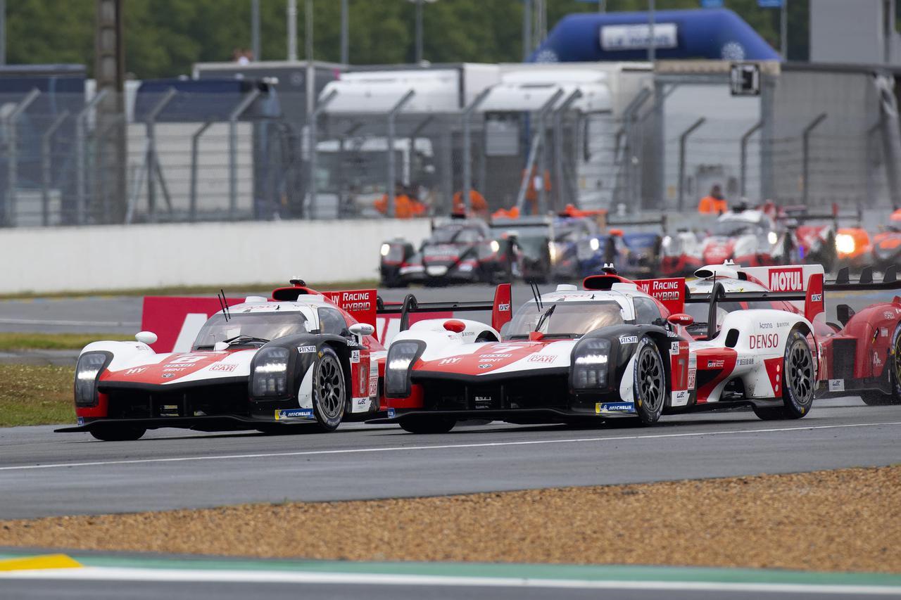 画像2: TOYOTA GAZOO Racing  1-2フィニッシュでル・マン4連覇!