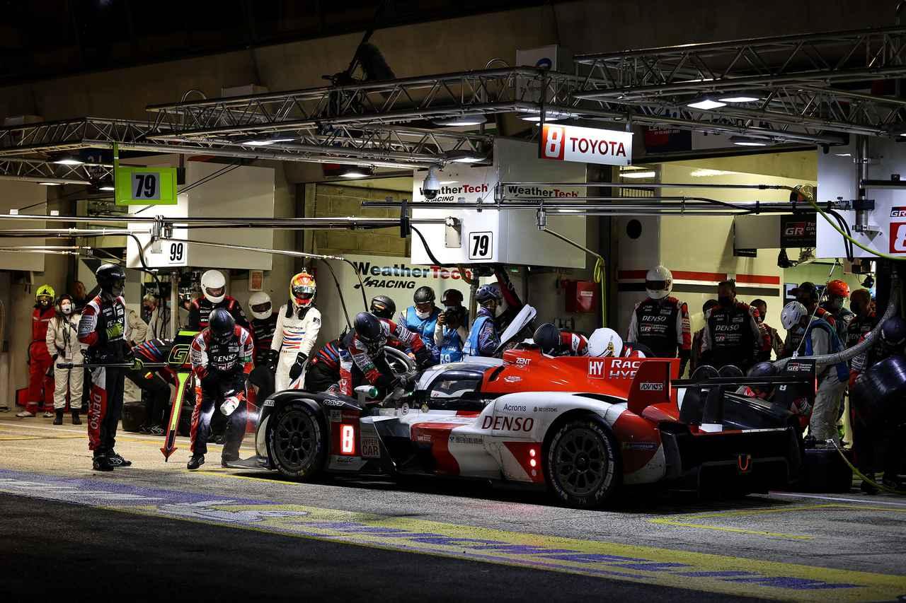 画像4: TOYOTA GAZOO Racing  1-2フィニッシュでル・マン4連覇!