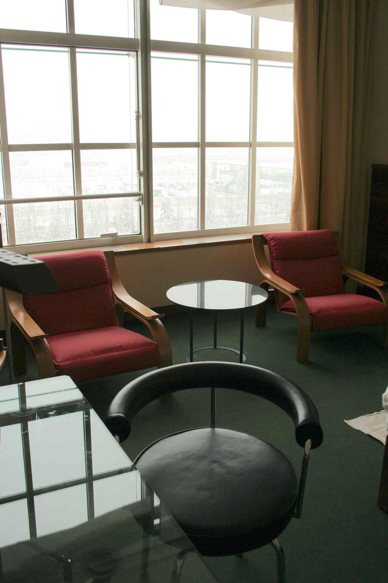 画像: その客室内(ル・メリディアン・リンゴット時代に撮影)。