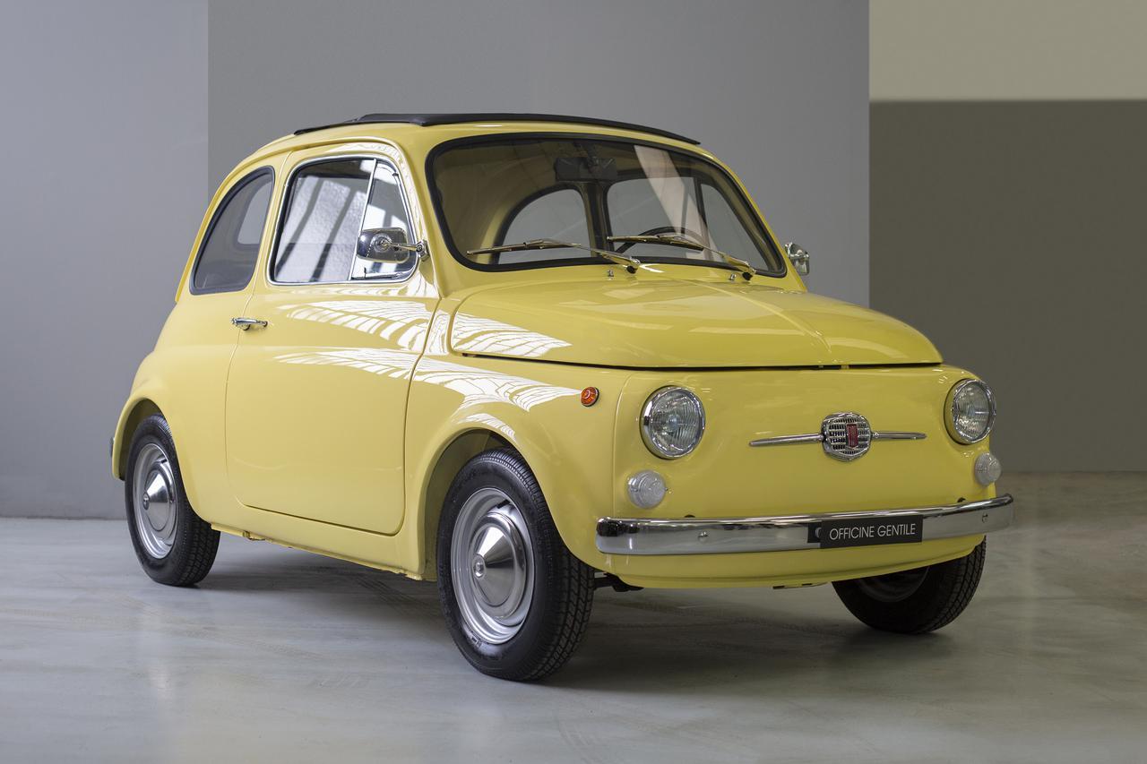 画像1: チンクエチェント博物館、「FIAT 500ev」  プロダクトモデル第1号車が完成