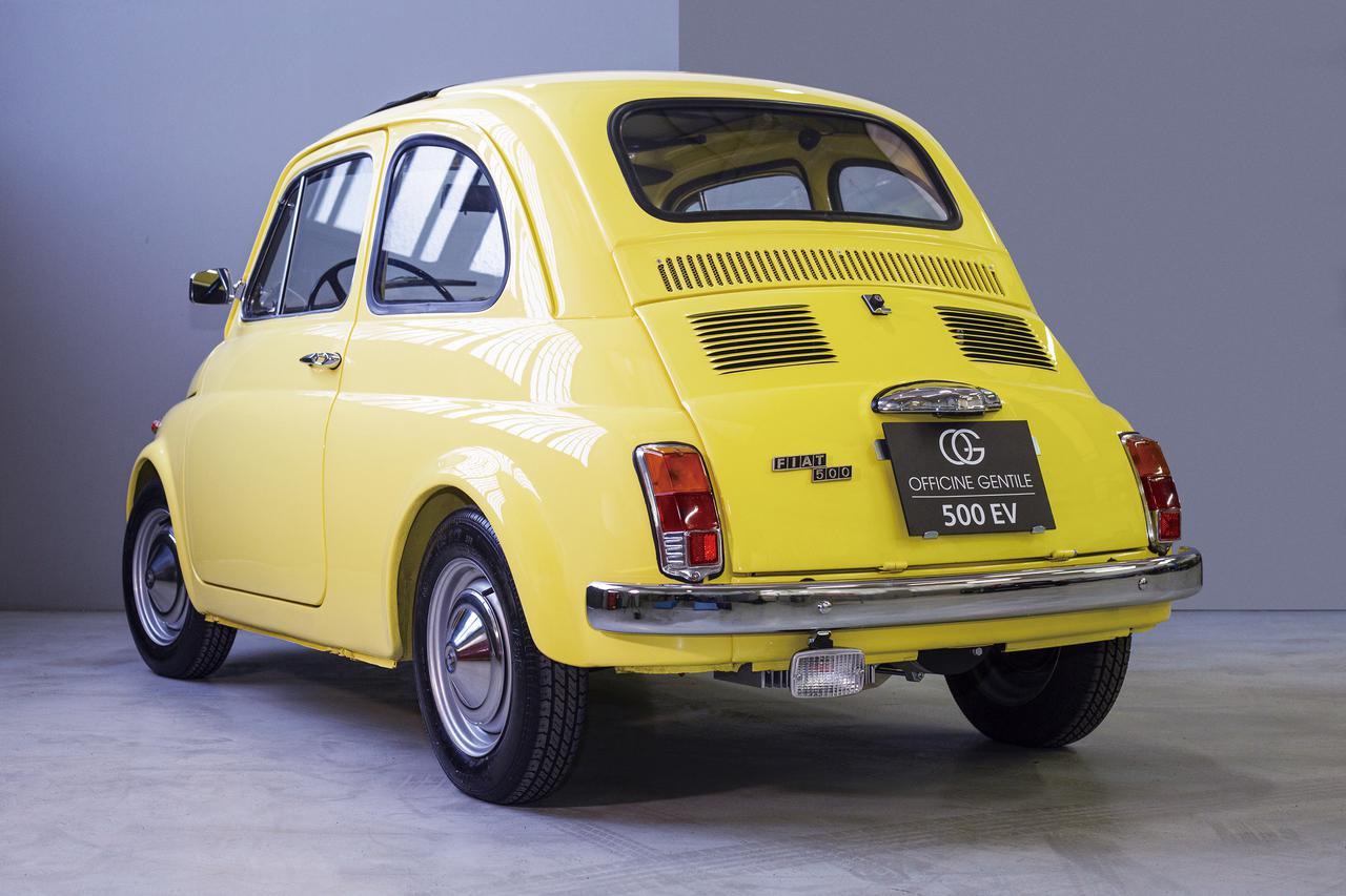 画像2: チンクエチェント博物館、「FIAT 500ev」  プロダクトモデル第1号車が完成