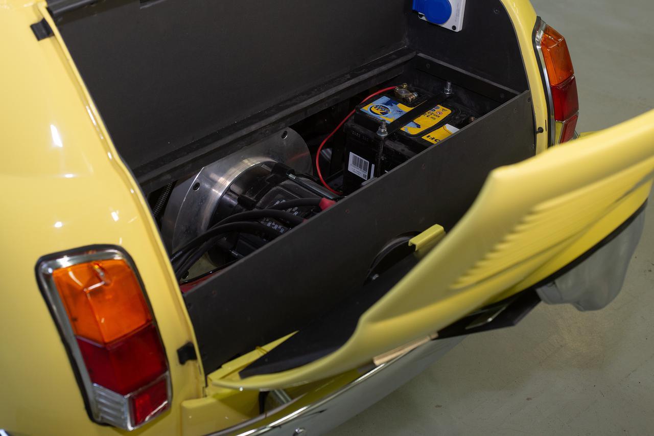 画像6: チンクエチェント博物館、「FIAT 500ev」  プロダクトモデル第1号車が完成