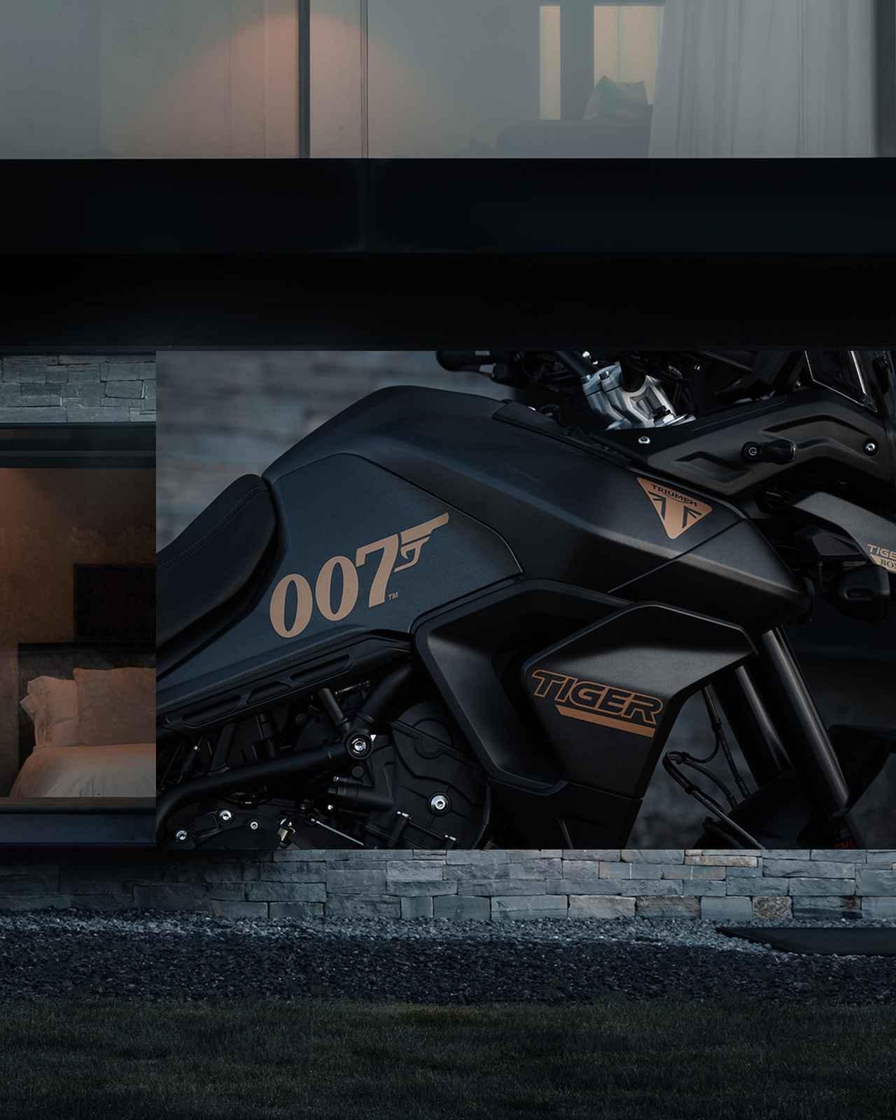 画像3: トライアンフから限定モデル「TIGER 900 BOND EDITION」登場