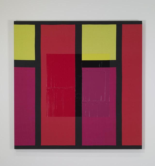 画像: 《BIRKA》(2007年) テキスタイルにアクリル 145 x 145 cm