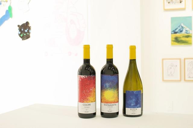 画像: (左から) 「コローレ 2011」 <750ml>¥140,000 コロリーノ、カナイオーロ、サンジョベーゼをブレンド。アロマティックで繊細な果実味。余韻が長く、エレガント 「テスタマッタ 2012」 <750ml>¥29,400 サンジョベーゼ100%。豊かな果実味とキレのある酸味 「ブジーア」 <750ml>¥12,000 アンソニカ100%。ミネラルが豊かで海のニュアンスを持つ。酸味も清らか