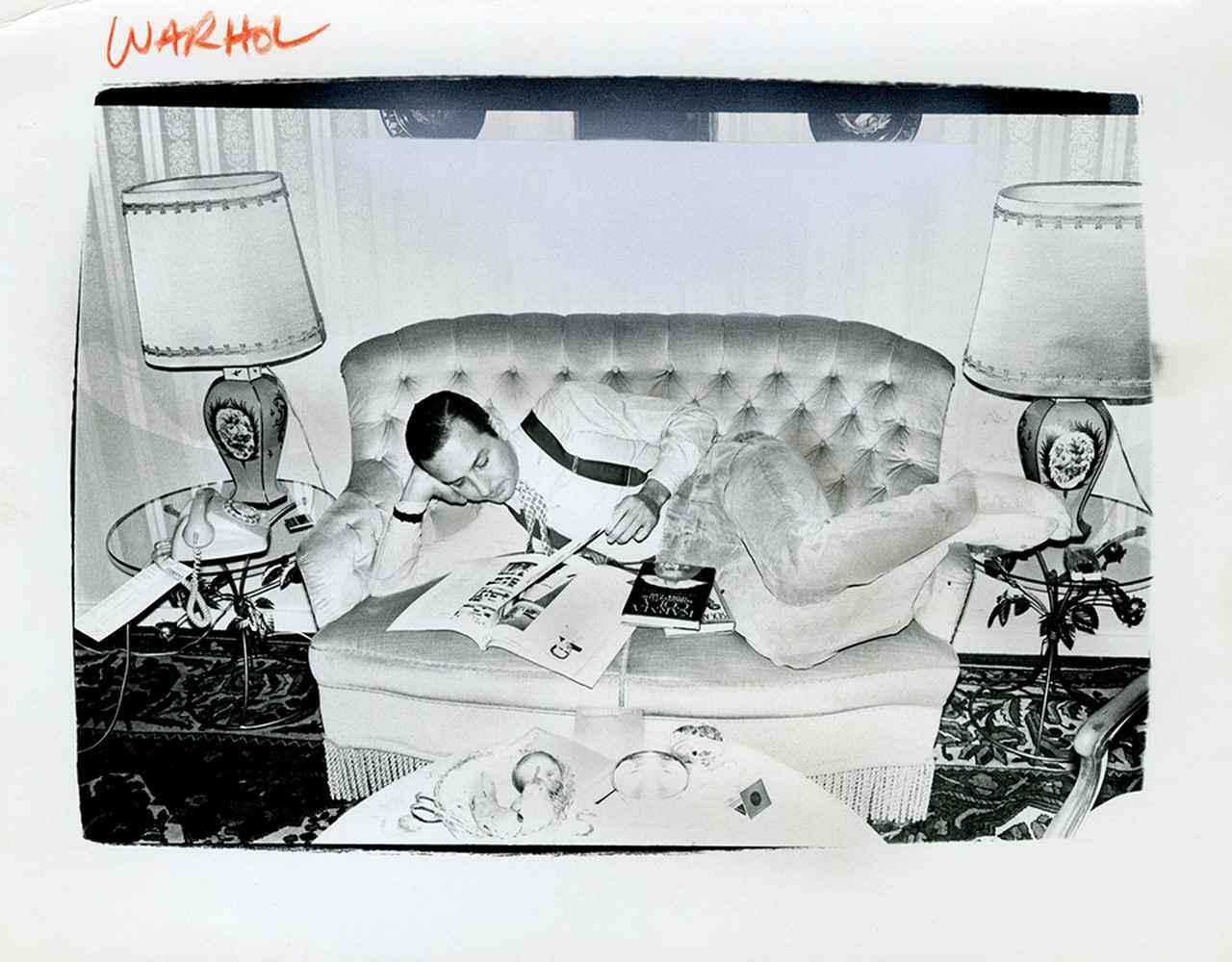 Images : 6番目の画像 - 「アンディ・ウォーホル 未発表のポートレイト写真」のアルバム - T JAPAN:The New York Times Style Magazine 公式サイト