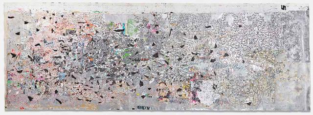 画像: MARK BRADFORD 《Helter Skelter I》2007年 365.8 x 1036.3 cm Estimate: £6 - 8 million