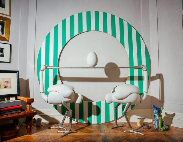 画像: オークションにかけられる作品のひとつ、フランソワ=グザヴィエ・ラランヌによる「ダチョウ・バー」
