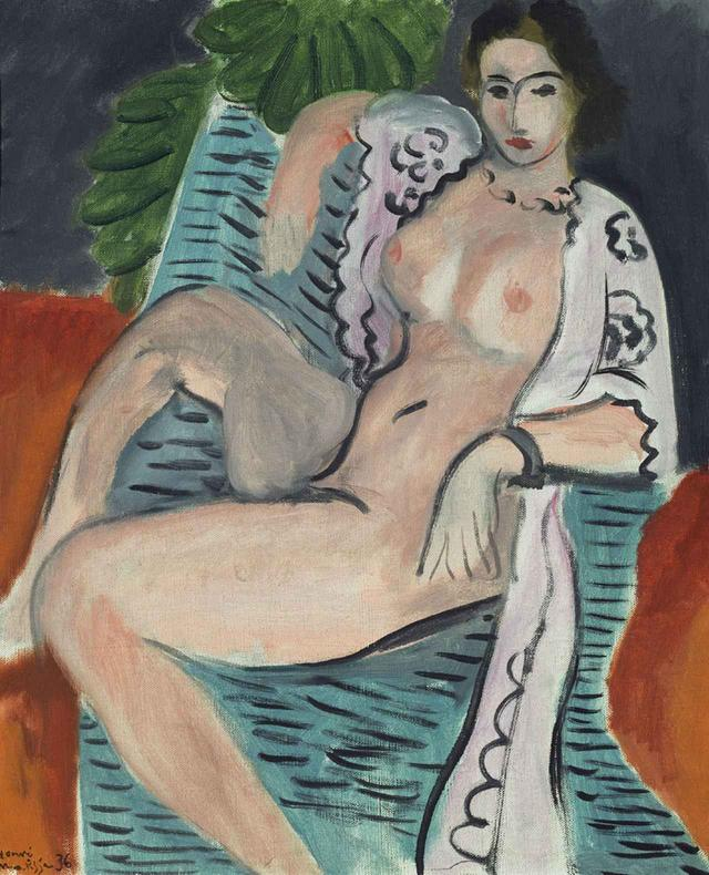 画像: アンリ・マティス《布をまとう裸婦》(1936年) 油彩/カンヴァス 45.7×37.5cm TATE: PURCHASED 1959 IMAGE © TATE, LONDON 2017