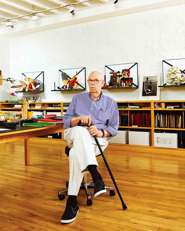 画像: クレス・オルデンバーグ。ニューヨーク市内ダウンタウンの彼のスタジオで撮影