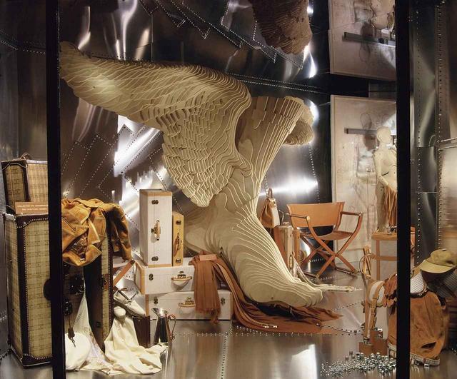 画像: 2017年11月8日~12月3日まで、フランス・パリのグラン・パレにて開催された「Hermès à Tire d'Aile: Les Mondes de Leïla Menchari(羽ばたくエルメスーレイラ・マンシャリの世界)」展より