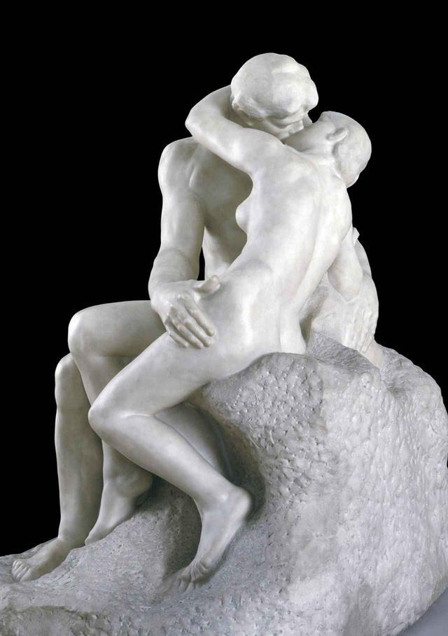 画像: オーギュスト・ロダン《接吻》(部分)(1901-4年) ペンテリコン 大理石 182.2×121.9×153cm TATE: PURCHASED WITH ASSISTANCE, FROM THE ART FUND AND PUBLIC CONTRIBUTIONS 1953, IMAGE © TATE, LONDON 2017