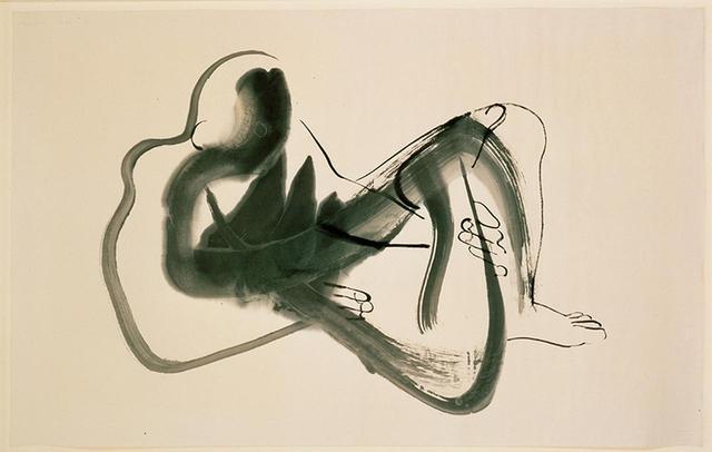 画像: イサム・ノグチ《北京ドローイング(横たわる男)》1930年 PHOTOGRAPHS: © THE ISAMU NOGUCHI FOUNDATION AND GARDEN MUSEUM,NEW YORK / ARTIST RIGHTS SOCIETY [ARS] - JASPAR