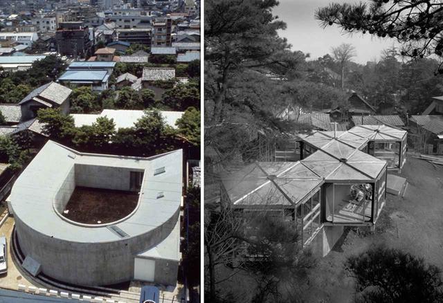 画像: (写真左より) 伊東豊雄『中野本町の家 / White U』(1976年) 女性と娘二人が暮らす家。居住者の動きや気配が感じられるように人がぐるりと一周できる円環状の構造を採用 池辺陽『住宅 No.76』(1965年) 戦後、プレファブを中心に「最小限住宅」が流行。池辺は、最小限の材料で大きな空間を得られる正六角形のユニットを考案した (FROM LEFT)PHOTOGRAPH BY KOJI TAKI, © TOMIO OHASHI
