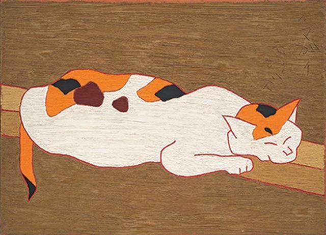 画像: 《猫》 1965年 愛知県美術館 木村定三コレクション COURTESY OF KIMURA TEIZO COLLECTION, AICHI PREFECTURAL MUSEUM OF ART