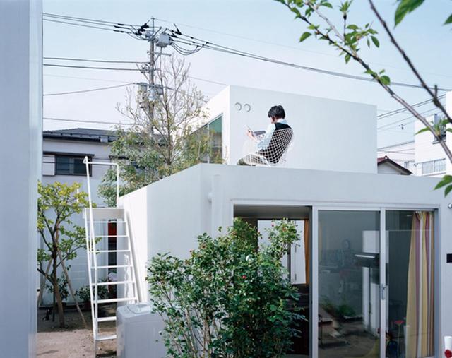 画像: 西沢立衛『森山邸』(2005年) 敷地内に大きさの異なる10個の建物を分散して配置。それぞれの「すき間」を、庭や通路などとして意識的に使っているのも特徴だ © TAKASHI HOMMA