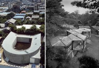 伊東豊雄『中野本町の家 / White U』(1976年)と池辺陽『住宅 No.76』(1965年)