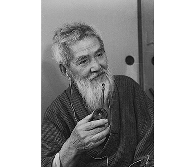画像: 熊谷守一 1971年(91歳) 撮影:日本経済新聞社