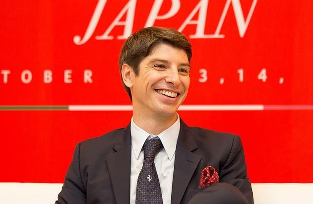 画像: フェラーリ・ジャパン&コリアのリノ・デパオリ代表取締役社長。カナダのブリティッシュコロンビア大学商学部で学士号を取得した後、大手一般消費財企業数社にて営業、マーケティング、組織管理の経験を積む。8年前にフェラーリに入社。中東、アフリカ、英国、中国を担当した後、2014年に日本へ着任。2015年より韓国も担当している