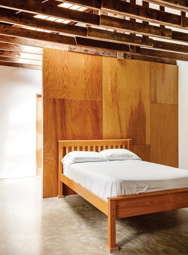 画像: 客用の棟にある寝室
