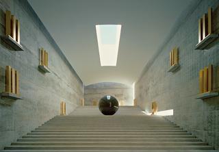 直島「地中美術館」のウォルター・デ・マリアの展示室