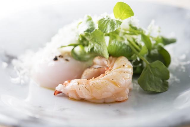画像: 「Restaurant TOYO Tokyo(レストラン トヨ トウキョウ)」の料理から。食材の鮮度にこだわる中山豊光シェフは、「目で味わい、口で触れ、五感で楽しむ。心が躍るような」料理を目指す