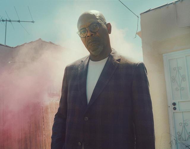 画像: ロサンゼルスにて。サミュエル・L・ジャクソンは、2017年8月25日(金)公開の映画『ヒットマンズ・ボディガード』(日本では同日よりNetflixで配信中)でライアン・レイノルズと共演する