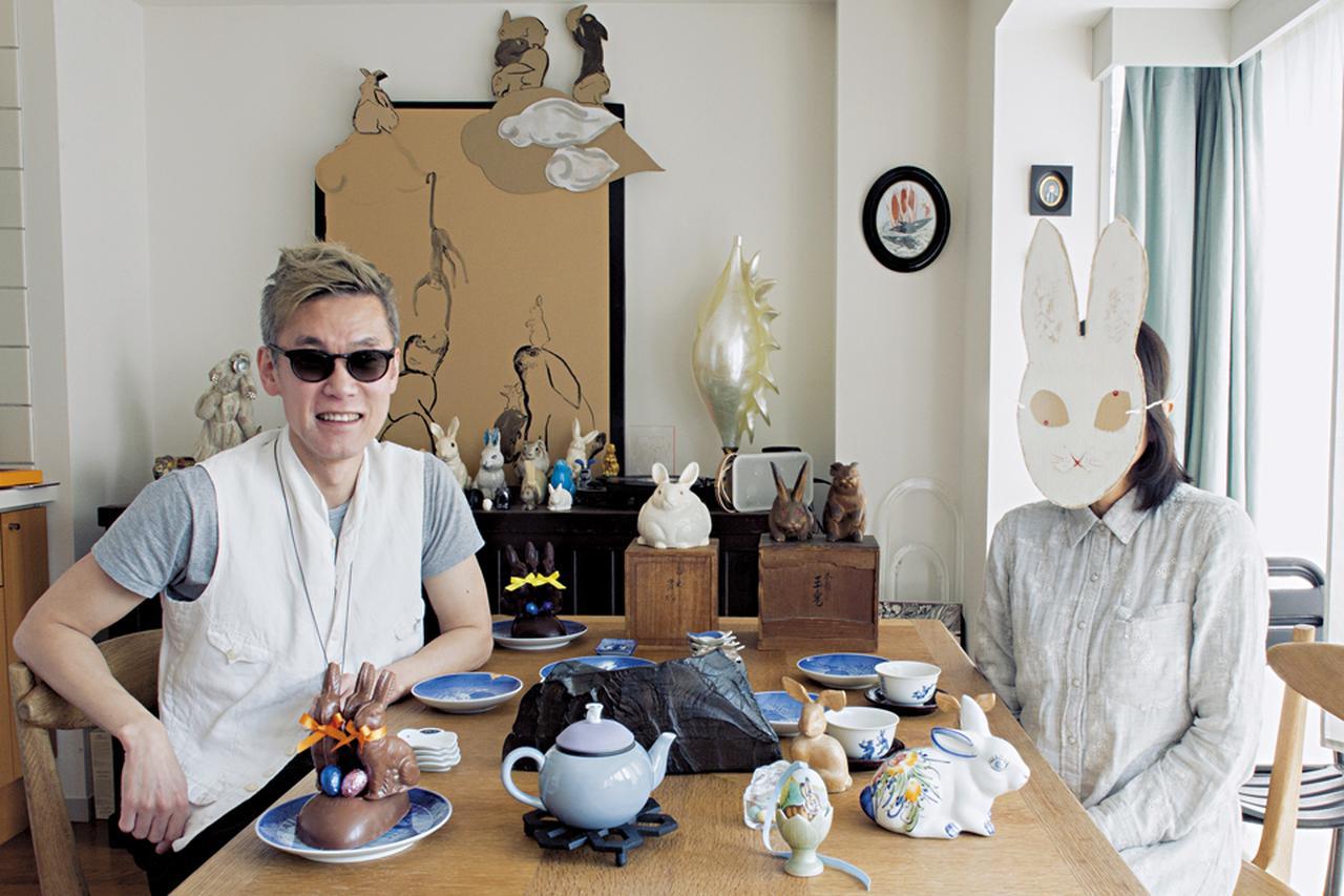 Images : 1番目の画像 - 「アーティスト×占術研究家 うさぎ愛を語り合う」のアルバム - T JAPAN:The New York Times Style Magazine 公式サイト
