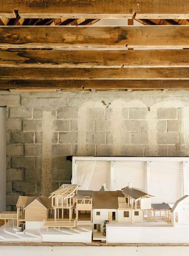 画像: 家のデザインの模型