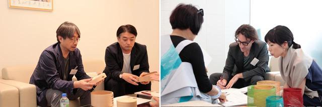 画像: 去る6月28日、29日に東京で開催された、個別コンサルティング。匠たちのプロダクトに対し、サポーターたちはクリエーションや市場のトレンドを踏まえながら、アドバイスを行なった
