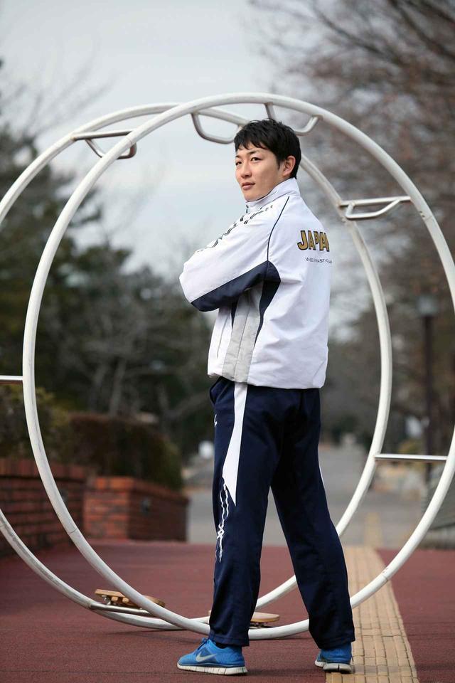 画像: 2014年2月、筑波大学で初めて撮影した髙橋選手。「競技を続ける上で、一番重要なのはモチベーションです。 つらい時、支えてくださる方々がいるのはとても心強い。多くの方に応援していただいていることも自分の強味だと思います」