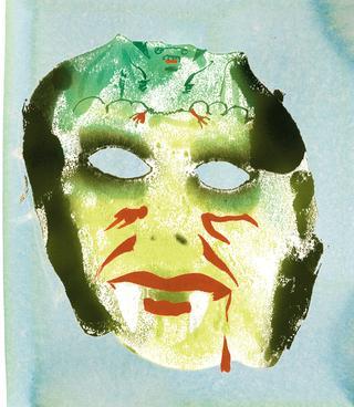 吸血鬼のマスク