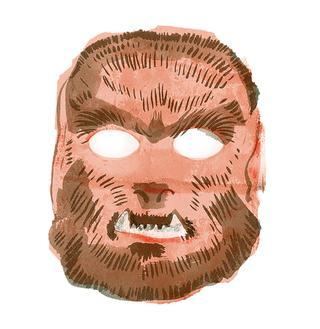 狼男のマスク