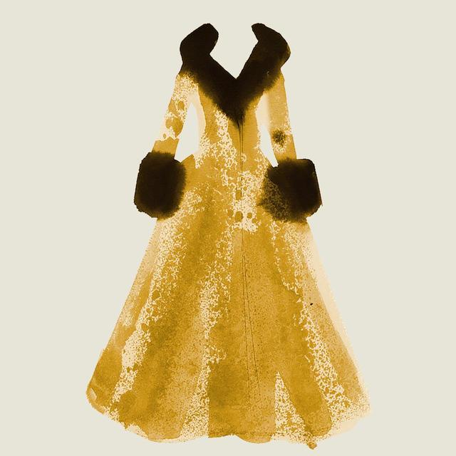 画像: ブロードウェイで『サンセット大通り』('94年)に出演したときのヒョウ柄ドレス。ミンクとシルクファイユでトリミングが施されている。「私が着たなかで最高に素敵な衣装のひとつになるでしょうね」
