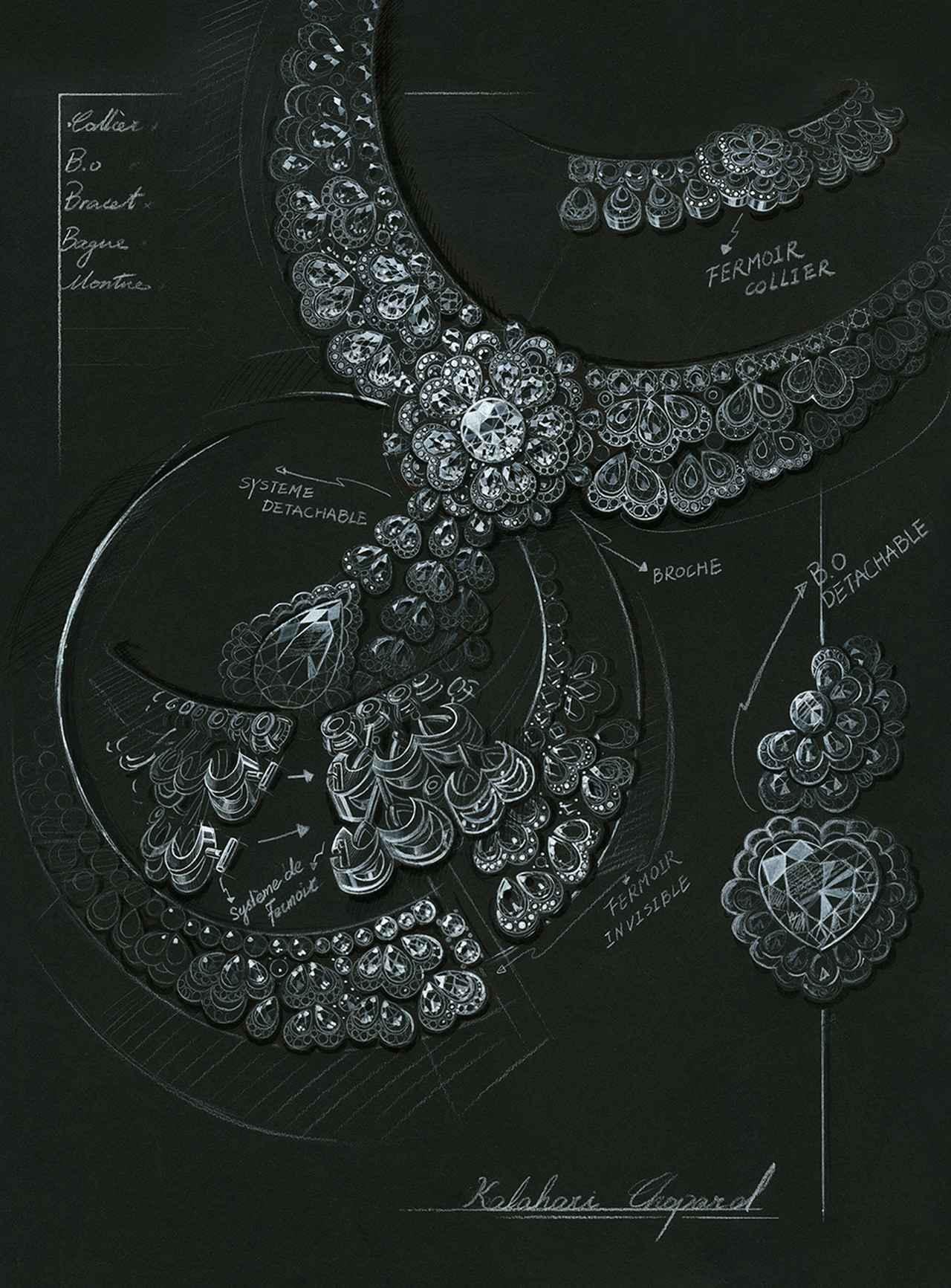 Images : 「ガーデン・オブ・カラハリ」のデザイン画