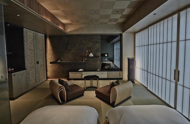 画像: 日本旅館らしさとモダニズムが溶け合った客室