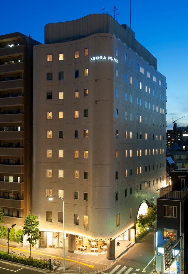 画像: ホテル外観 銀座線 田原町駅から徒歩1分の便利な場所に建つ