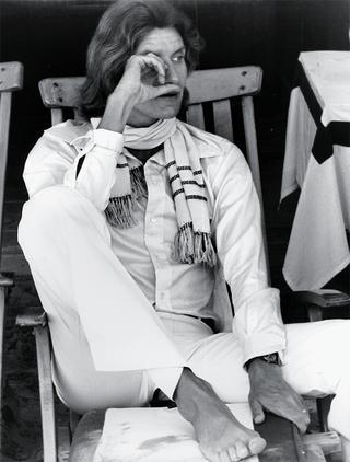 イヴ・サンローランベネチアにて、1970年代初め