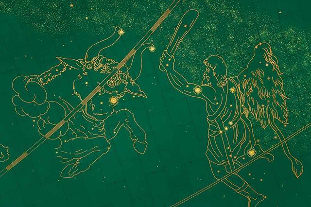 画像: NY、グランド・セントラル駅の天井絵画 CHRIS PETSOS