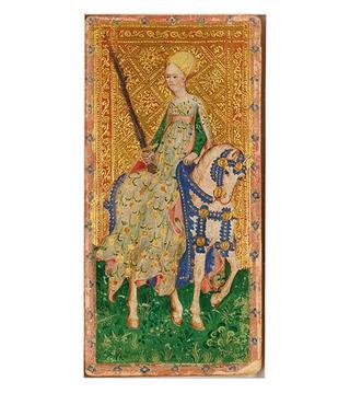 ヴィスコンティ家のタロットカード(1451年頃)