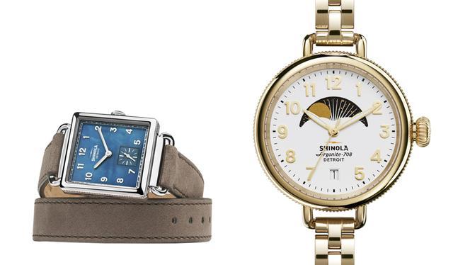 画像: (左から)時計「The Cass」 ¥104,760、「The Birdy」¥92,880