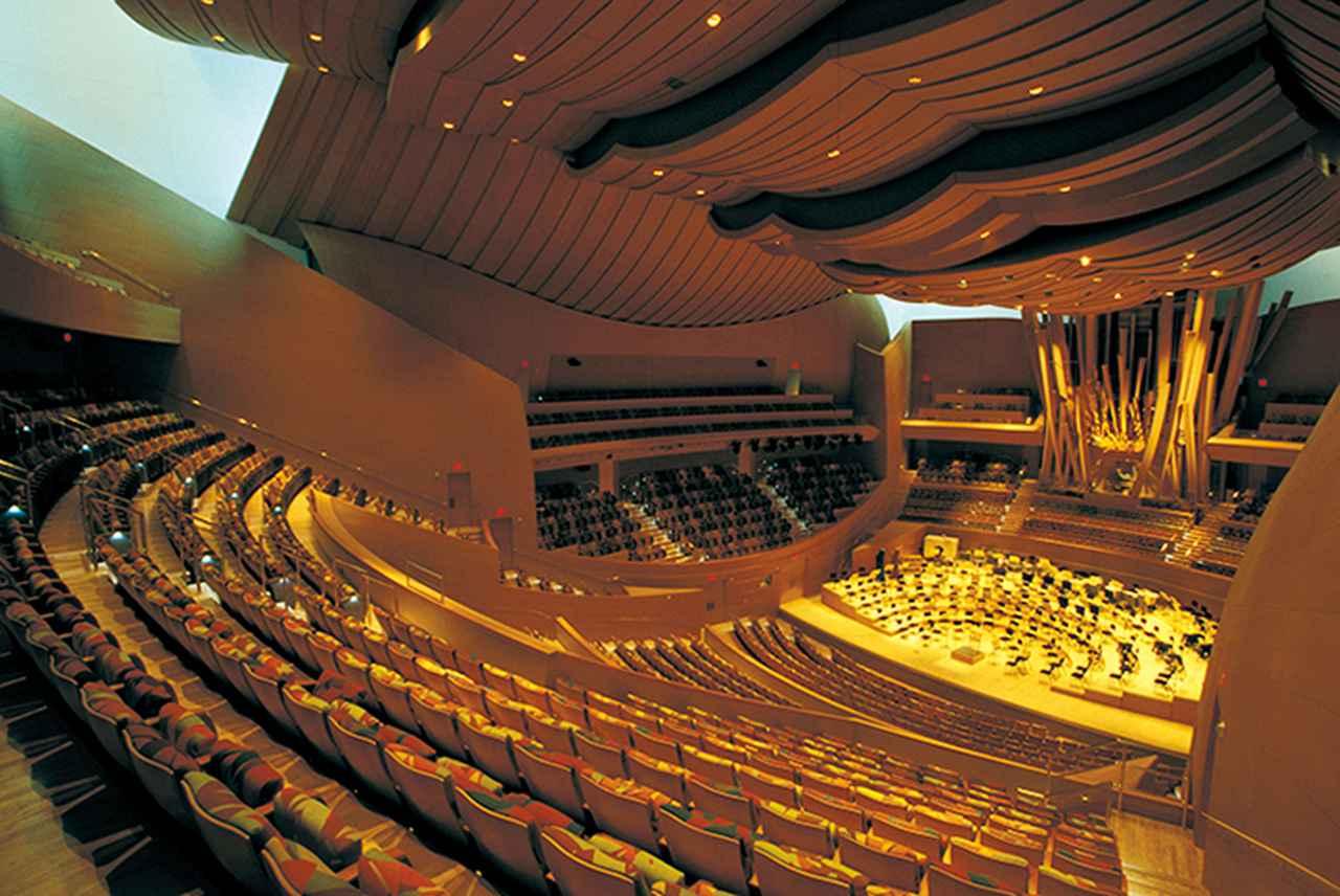 Images : <ウォルト・ディズニー・コンサートホール>の実際のホール