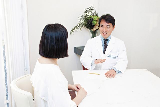 画像: 女性の場合は生理日を避け、食事を8時間抜いて血液と尿を採取する。所要時間は約30分。約3週間後、検査データに基づいて医師のカウンセリングを受ける。「確実に必要なものを補完することで、体や肌だけでなく、 気力やメンタルにも大きな変化が表れます」と松倉院長