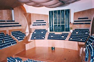 <ウォルト・ディズニー・コンサートホール>の内部模型