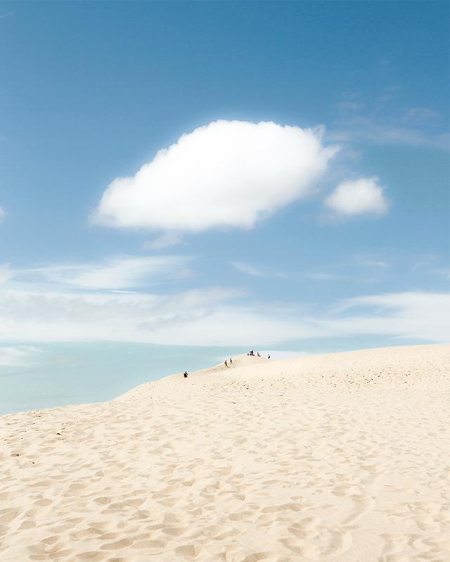 画像: 標高110メートルのピラ砂丘は、ヨーロッパで1番標高の高い砂丘である