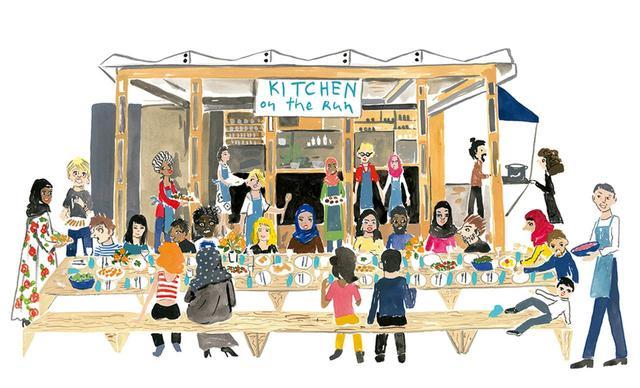 画像1: 一緒に座って、食べて、 会話が生まれる場所