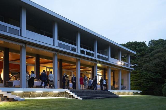画像: 「Champagne Joie de Vivre」賞 授賞式の会場となったフランス大使公邸