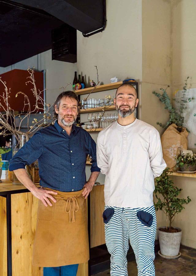 画像: 原川慎一郎さん(右)、ジェローム・ワーグさん(左)