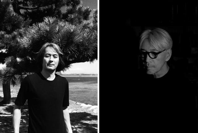 画像: (写真左)1999年に上演したオペラ《LIFE》以降、坂本龍一のコラボレーターを務めているアーティストの高谷史郎 (写真右)坂本龍一 PHOTOGRAPH BY ZAKKUBALAN