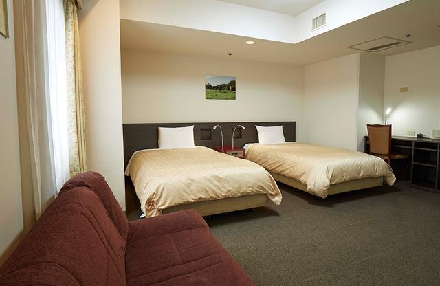 画像: 客室は、シングルからトリプルまで5タイプ
